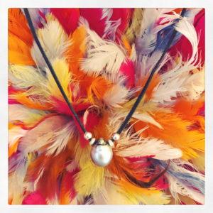 collier perles DROP