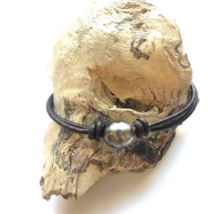 bracelet homme perles and wax
