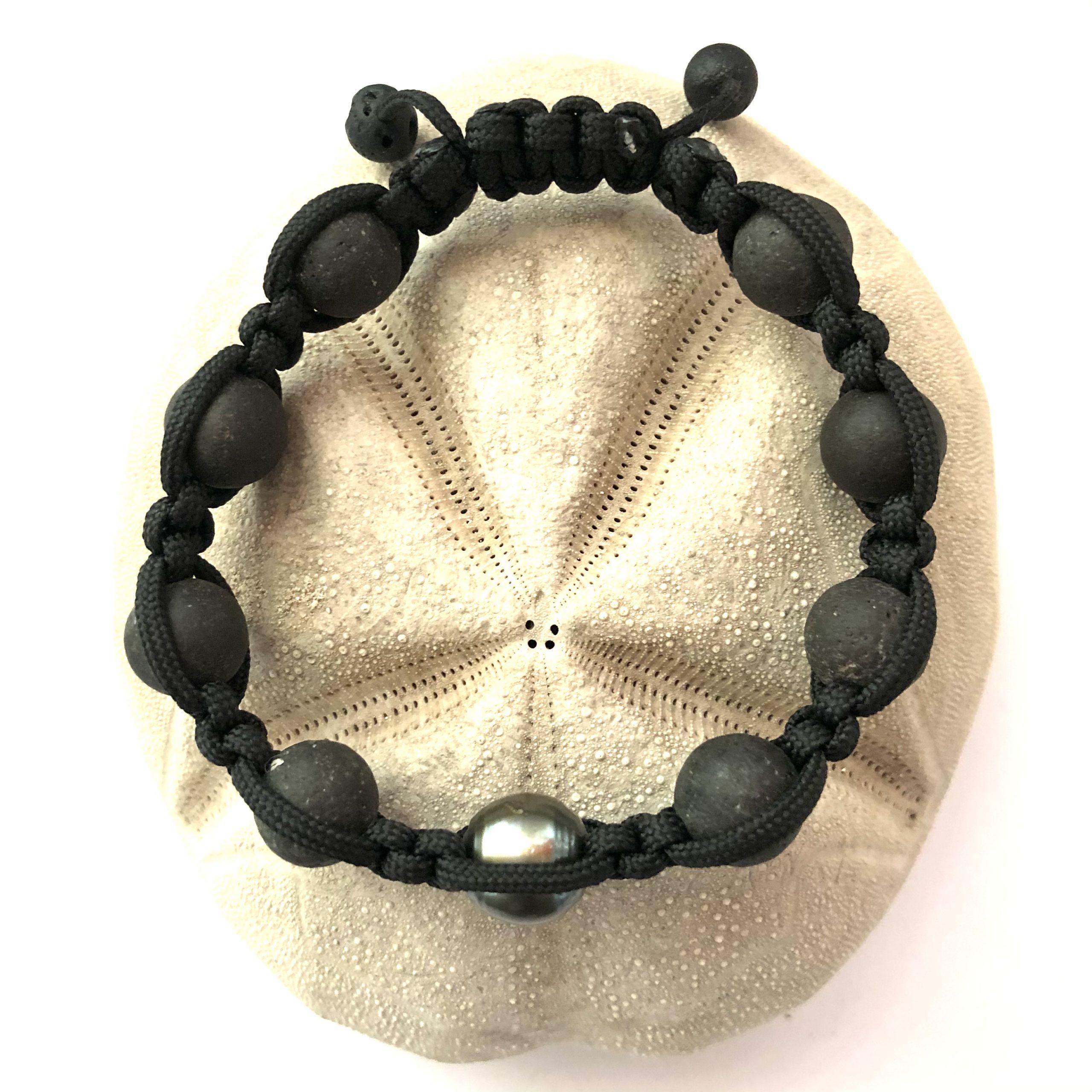 bracelet homme perles&wax