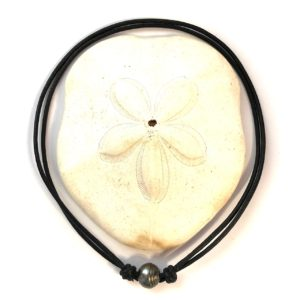 collier homme perle de tahiti