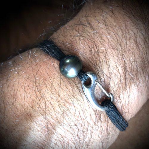 bracelet homme perle tahiti