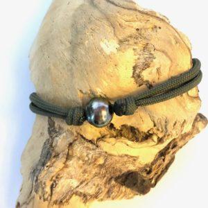 Bracelet pour homme perle de Tahiti