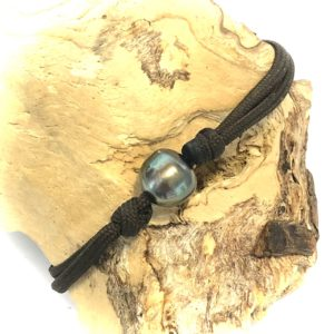 Bracelet homme perle de polynésie